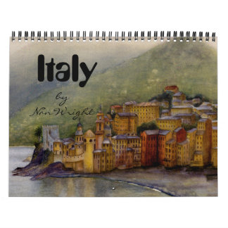 Northern Italy Calendar