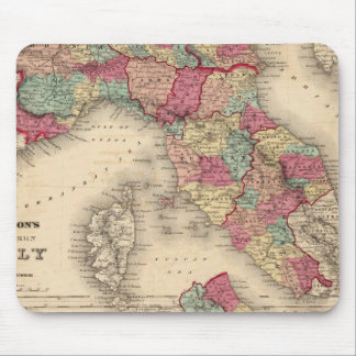 Northern Italy Southern Italy Mouse Pad