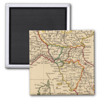 Northern Italy Square Magnet