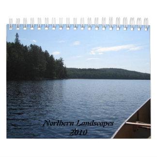Northern Landscapes 2010 Calendar