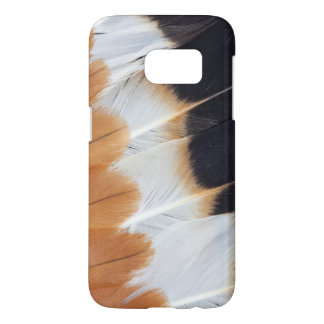 Northern Lapwing Feather Abstract