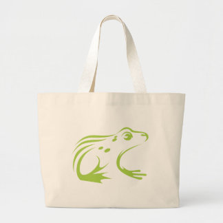 Northern Leopard Frog Large Tote Bag