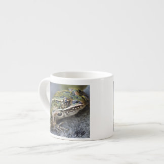 Northern Leopard frog, See-through Island, Espresso Cup