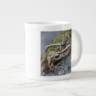 Northern Leopard frog, See-through Island, Large Coffee Mug