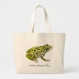 Northern Leopard Frog Tote Bag