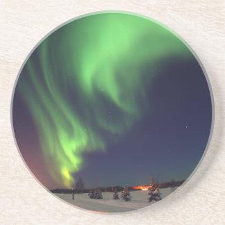 Northern Lights at Bear Lake Coaster