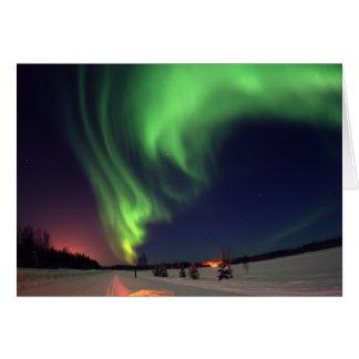 Northern Lights at Bear Lake Greeting Card