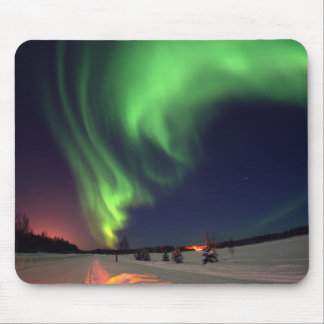 Northern Lights at Bear Lake Mouse Mat