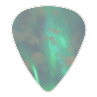 Northern Lights, Aurora Borealis Acetal Guitar Pick