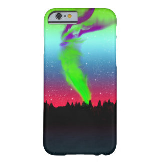 Northern Lights - Aurora Borealis Barely There iPhone 6 Case