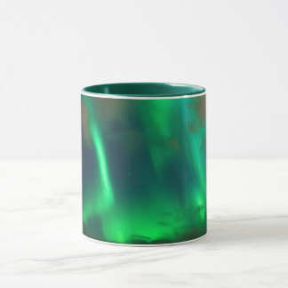 Northern Lights, Aurora Borealis Mug