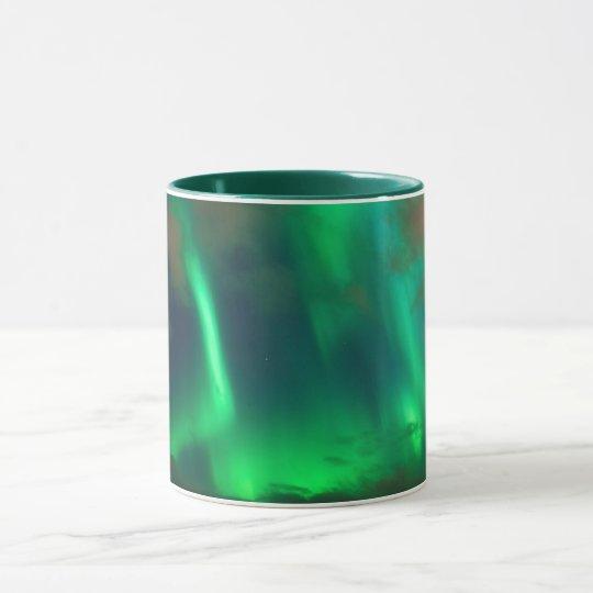 Northern Lights, Aurora Borealis Mug