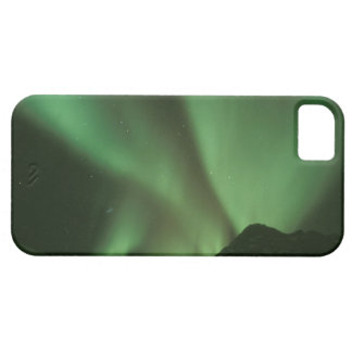 Northern lights, Aurora borealis on foothills of iPhone 5 Cases