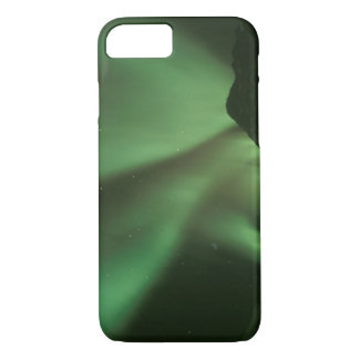 Northern lights, Aurora borealis on foothills of iPhone 8/7 Case