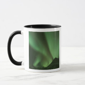 Northern lights, Aurora borealis on foothills of Mug