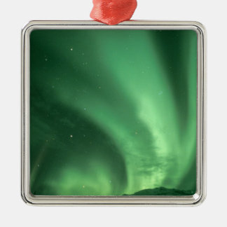 Northern lights, Aurora borealis, over foothills Christmas Ornament