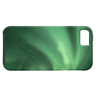 Northern lights, Aurora borealis, over foothills iPhone 5 Case