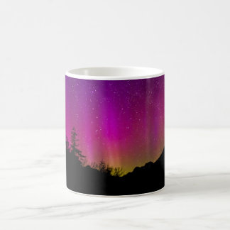 Northern Lights Aurora Borealis Starry Night Sky Coffee Mug