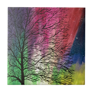 Northern Lights, Aurora Borealis Tile