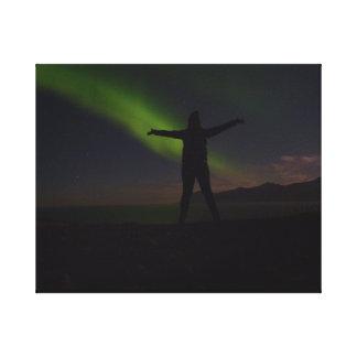 Northern Lights canvas