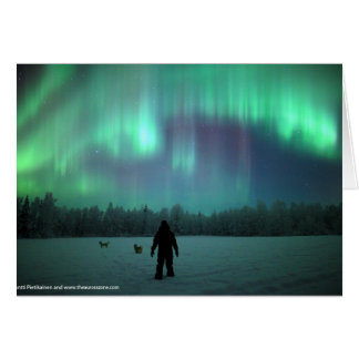 Northern Lights Card