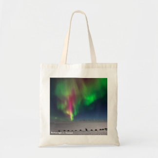 Northern Lights, Greenland - Budget Tote Budget Tote Bag