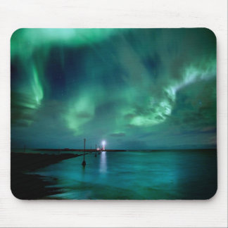 Northern Lights Iceland Mouse Mat