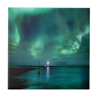 Northern Lights Iceland Tile