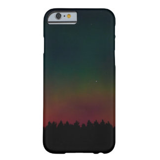 Northern Lights Landscape Barely There iPhone 6 Case