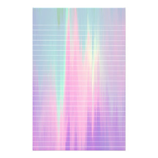 Northern Lights Lined Paper