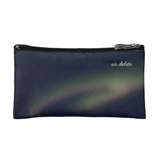 Northern Lights Loop; Customizable Makeup Bags