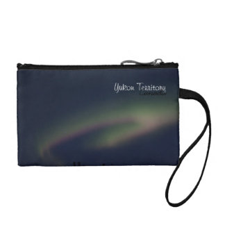 Northern Lights Loop; Yukon Territory Souvenir Coin Wallets