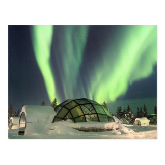 Northern Lights over Finland Postcard