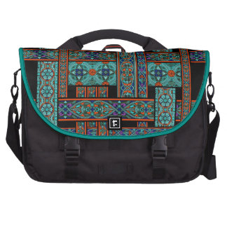 Northern Lights Stained Glass Laptop Bag