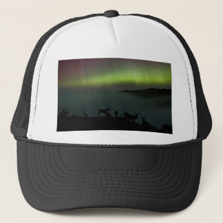 Northern Lights with Stags Hat/Cap Trucker Hat