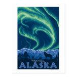 Northern Lights - Wrangell, Alaska Post Card