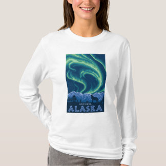 Northern Lights - Wrangell, Alaska T-Shirt