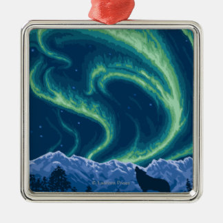 Northern Lights - Yukon, Alaska Christmas Ornament