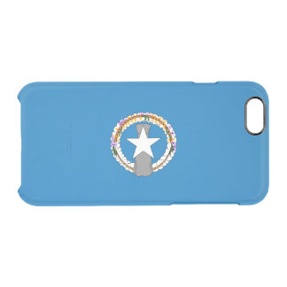 Northern Mariana Islands Clear iPhone Case