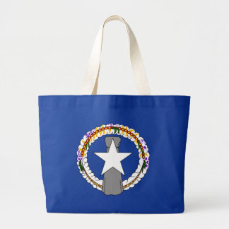 Northern Mariana Islands Flag Canvas Bags