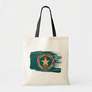 Northern Mariana Islands Flag Canvas Bags