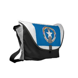 Northern Mariana Islands Flag Courier Bags