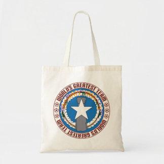 Northern Mariana Islands Greatest Team Budget Tote Bag