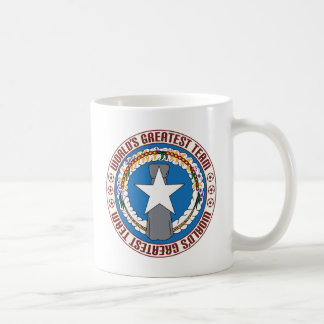 Northern Mariana Islands Greatest Team Basic White Mug
