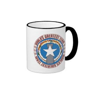 Northern Mariana Islands Greatest Team Ringer Mug