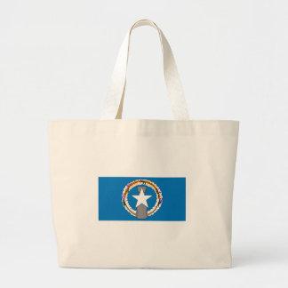 Northern Marianas Flag Jumbo Tote Bag