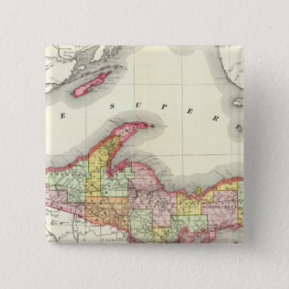 Northern Michigan 15 Cm Square Badge