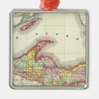 Northern Michigan Christmas Ornament