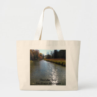 Northern Michigan Jumbo Tote Bag