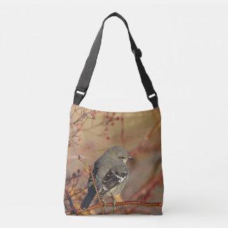 Northern mockingbird crossbody bag